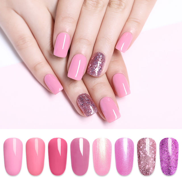 LILYCUTE Glitter Gel Nail Polish 5ML