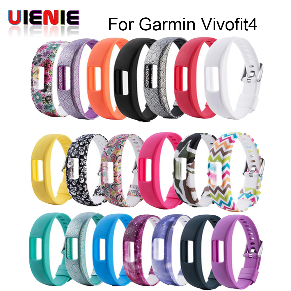 New Silicone Wrist Band For Garmin Vivofit 4 Strap Activity Fitness Tracker Replacement Watchbands For Garmin Vivofit4 Wristband