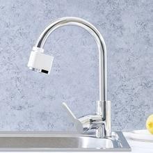Zajia Induzione Acqua Saver troppo pieno rubinetto intelligente sensore A Infrarossi dispositivo di risparmio di energia di acqua Della Cucina Ugello Rubinetto