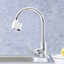 Zajia indüksiyon su tasarrufu taşma akıllı musluk sensörü kızılötesi su enerji tasarruf cihazı mutfak memesi musluk