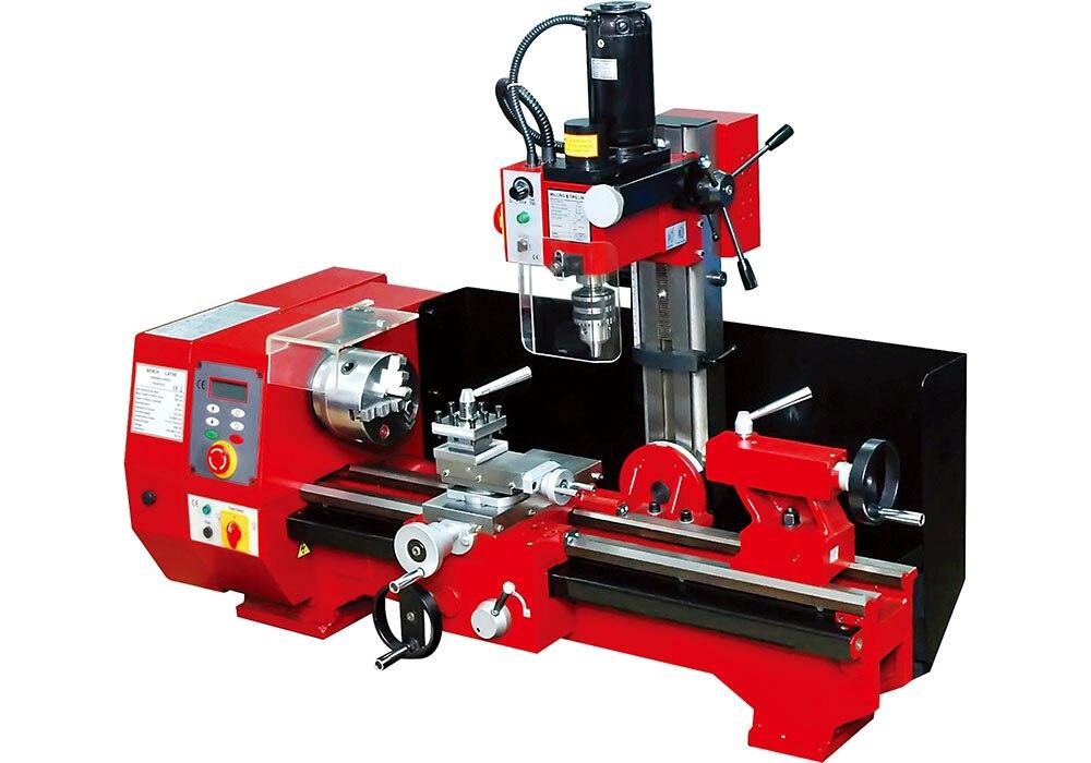 SM6-550 Machine Polyvalente, Multi-fonction Machine Pour Tour Tournant Forage Et Fraisage