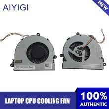 AIYIGI новый ноутбук Процессор вентилятор охлаждения для Dell Inspiron 15R 3521 3721 5521 5535 5721 074X7 К DC28000C8A0 тетрадь аксессуары