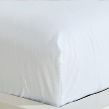Fitted Sheet with an elastic band solid colors Skin friendly cotton Bed Sheets Bedspreadcotton Mattress Cover Customizable