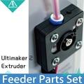 3D Принтер Части UM2 Боуден Экструдера Питатель для 1.75/3.0 мм, Ultimaker 2 + Расширенный Часть поставка нити олссон блок комплект системы