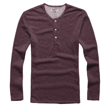 Men T shirt Long Sleeve O neck Mens Cotton Tees Tops Pullover Casual Sweatshirts