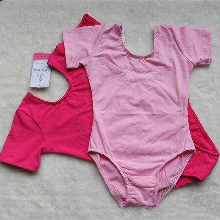 Bērnu vingrošana ar īsām piedurknēm deju kleita Balets Tutu trikotāžas skates kostīmu kleita Flamengo skates kostīms Apģērbs 18