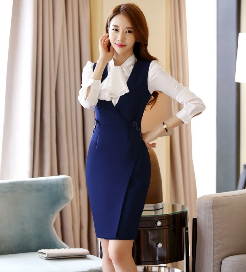 New-Arrival-2016-Spring-Autumn-Formal-OL-Styles-Professional-Business-Women-Work-Suits-With-Blouses-And (2)