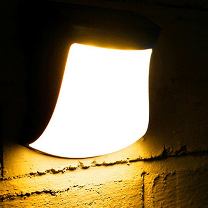 все цены на High Brightness Solar Light no radiation Outdoor waterproof Solar Powered Smart Light Control LED Wall Lamps онлайн