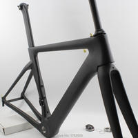 SALE 2018 Newest 700C Racing Road Bike Matt UD Full Carbon Fibre Bicycle Frame Carbon Fork