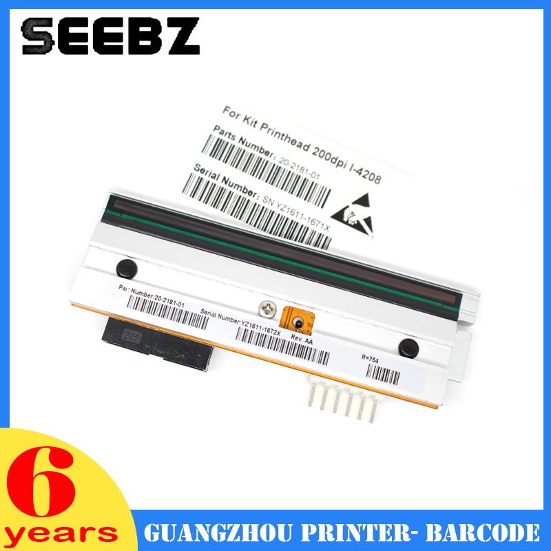 SEEBZ Printer Spplies Compatible Printhead Barcode Print Head PHD20-2181-01 For Datamax I4206 i-4206 new thermal print head printhead compatible for datamax i4206 i4208 i 4206 i 4208 thermal barcode printers 20 2181 01 203dpi