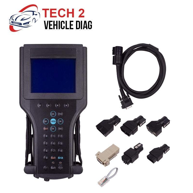 For SAAB Tech2 diagnostic tool for G-M/SAAB/OPEL/SUZUKI/ISUZU/Holden for gm tech scanner Car diagnostics scanner tech2 tech 2 scanner for sale