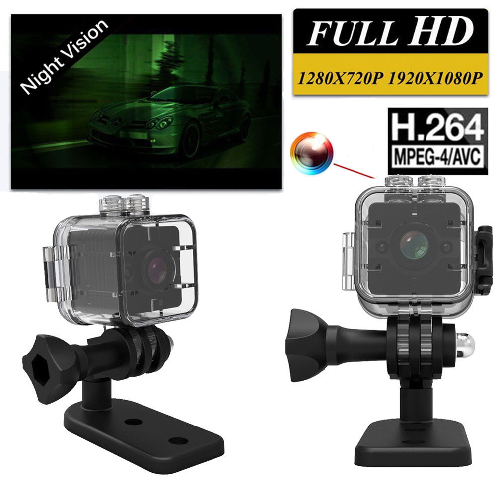 Mini Full HD 1080P Video Camera Sports DV IR Night Vision Car DVR Camcorder LCC77 happy easter polyester fabric shower curtain
