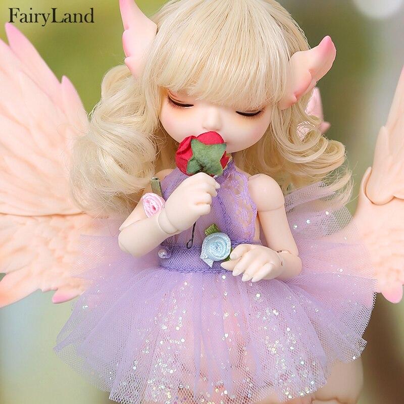 Image 2 - Кукла сказочная RealFee Haru BJD, модель 1/7, игрушки для  мальчиков и девочек, кукольный домик, силиконовая резина, мебель для  анимеreborn girlbjd dolls fairylanddoll fairyland