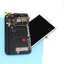 Para Samsung nota 2 pantalla LCD pantalla táctil digitizador marco N7100  reemplazos LCD pantalla para Samsung Galaxy Note 2 . db7ef14dfa