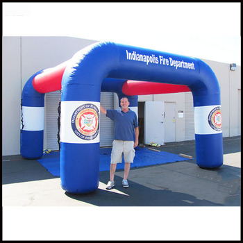 Free shipment length 6m(20ft) inflatable misting tent for advertising (NB-TE2024) фото
