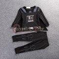 Star wars darth vader cosplay niños onesies invierno otoño pijamas homewear d1228