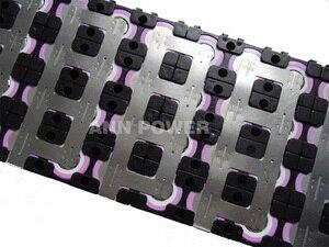 Image 4 - Держатель аккумулятора 4P13S 18650 + никелевая полоса 4P2S для литий ионных батарей 13S 48 в 10 Ач, держатель 4*13 и никелевый ремень 4*2