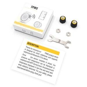 Image 5 - Zeepin V100B TPMS Bluetooth Tire Pressure Monitoring System APP Modus 2PCS Externe Sensoren Für Motorräder