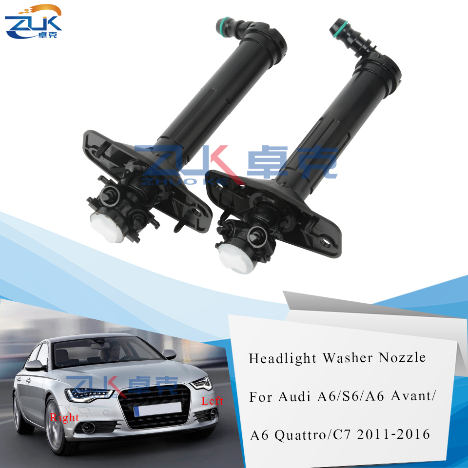 Left And Right Side Headlight Washer Pump For AUDI A6 C6 S6 Allroad Quattro RS6