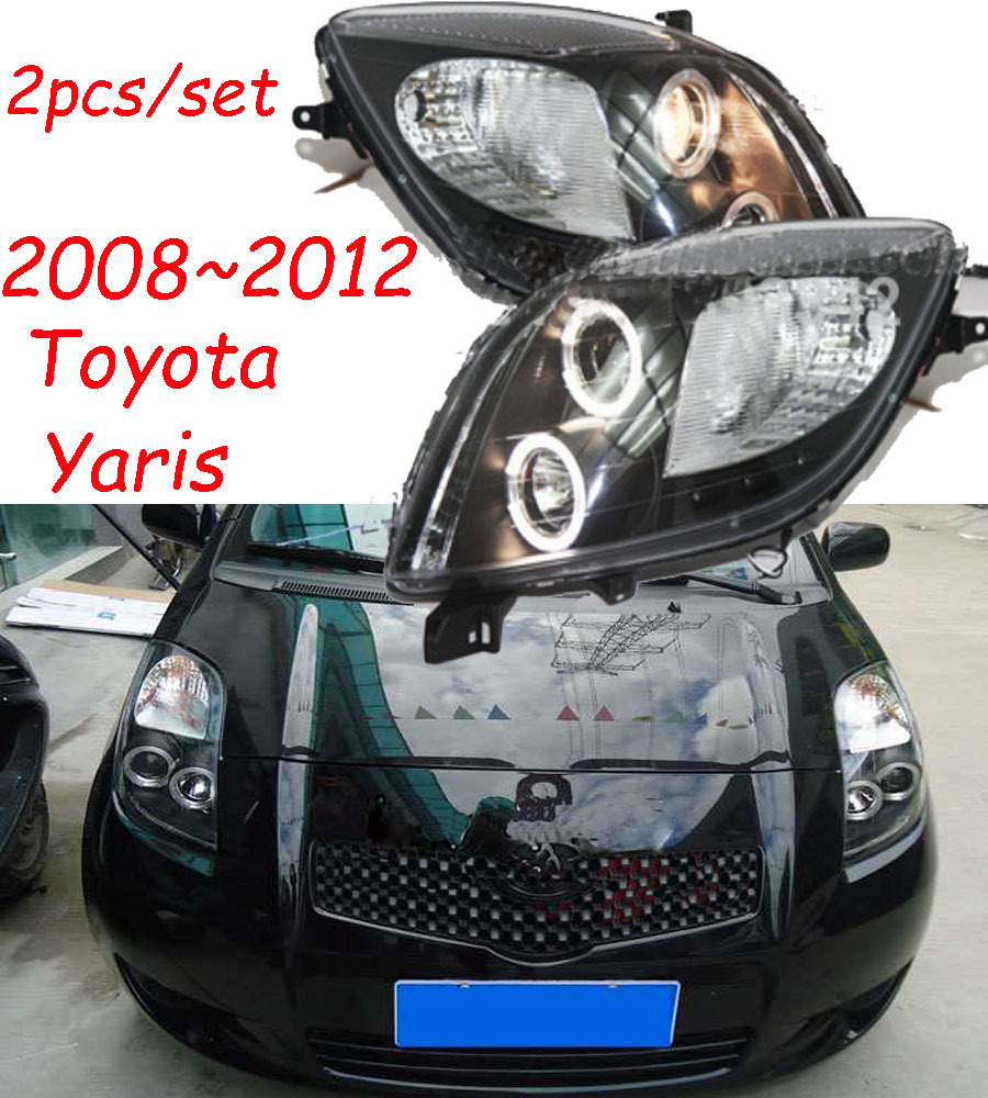 Free ship 2008 2012 Toyota Yaris headlight with projector HID bulb and CCFL optional Ballast TaiWan free ship!2008~2012 toyota yaris headlight with projector,hid bulb Headlight Wiring Harness Replacement at soozxer.org