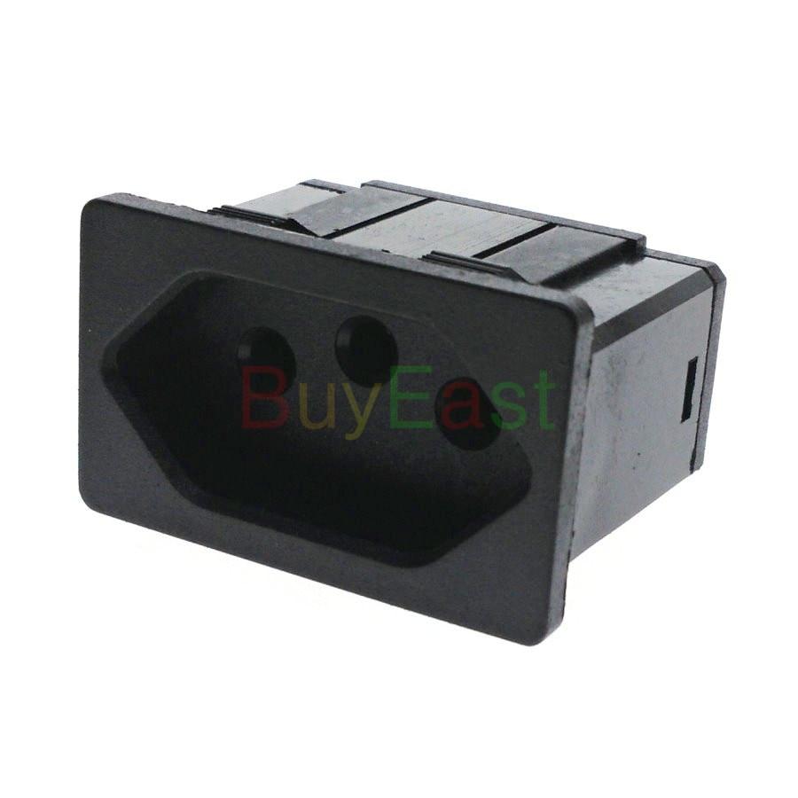 2 PCS type I AU CHINA 3 Pin Male Rewireable Plug AC100~250V 10A Back Entry