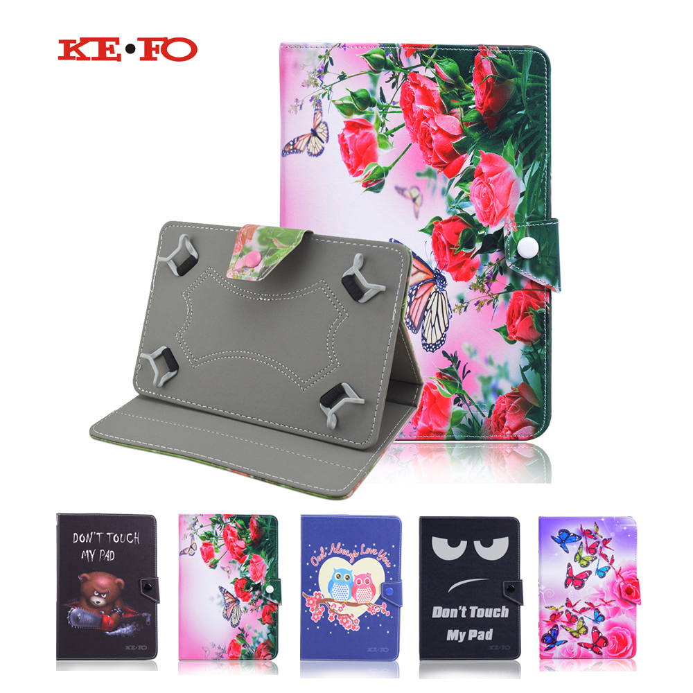Universal 10 inch Android Tablet Leather Flip Stand Case Cover For Visual Land Prestige Elite 10QS 10.1 inch+flim+pen