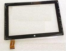 "Nueva pantalla táctil del digitizador Para 10.1 ""gana Ostras T104RWi Tableta 3G T104 RWI Touch panel Frontal de Cristal Libre gratis"