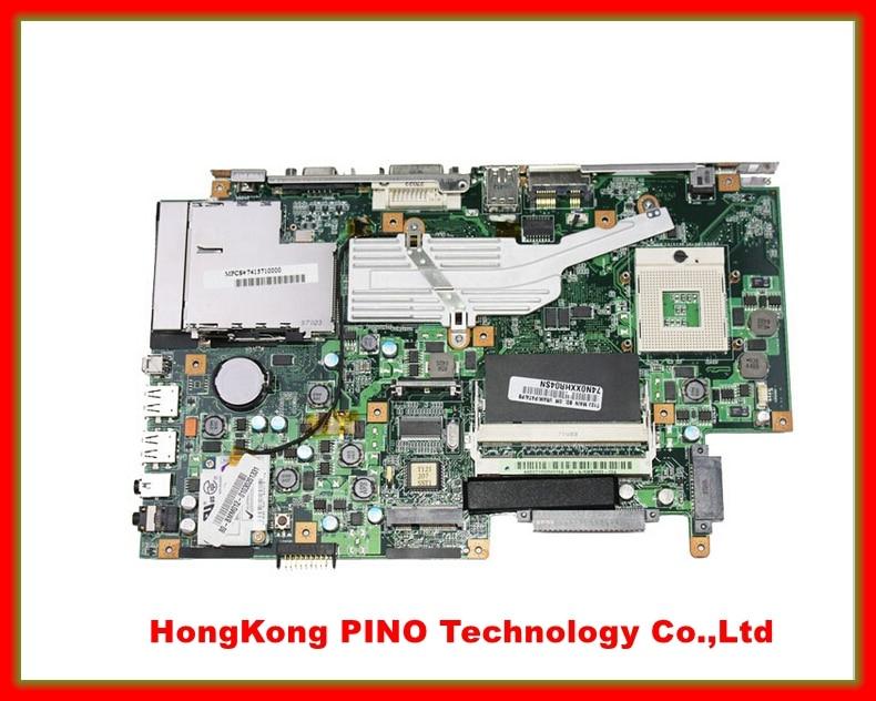 T12J motherboard For ASUS T12J laptop motherboard REV 2.0 system board 100% Tested