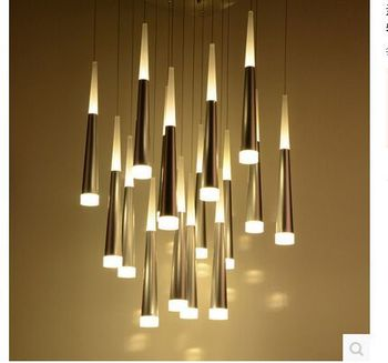 NEW  LED acrylic sitting room bedroom lamps and lanterns of modern energy-saving lamps 110-240v