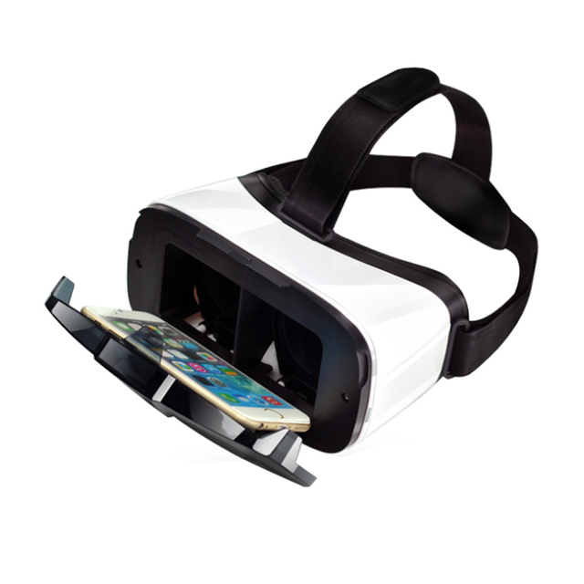 VR Box 3D VR Glasses Headset Virtual Reality Goggles Googles Cardboard 2.0 Version VR BOX For 4.0~6.5 inch Smartphones