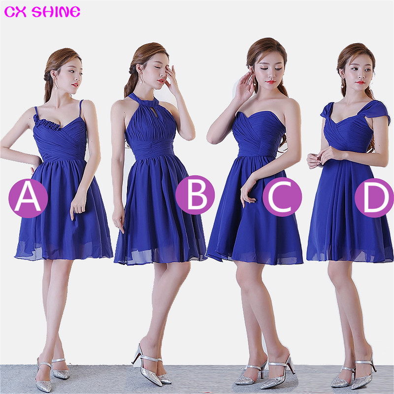 CX SHINE New Custom color & Size! Sweet 4 style long Bridesmaid ...