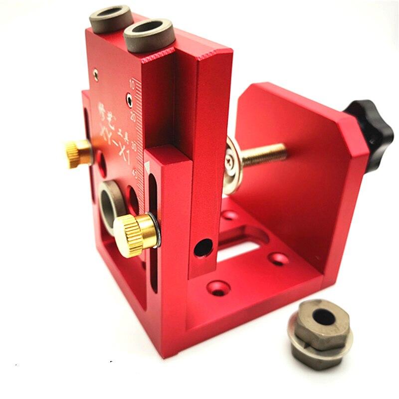 Set di guide per trapano con foro di 35 mm Kit di posizionamento per posizionamento di porte per la lavorazione del legno