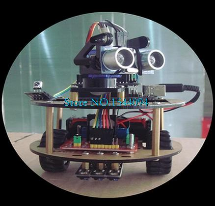Intelligent Car Learning Suite Robot Intelligent Turtle Wireless Control Based For ARDUINO