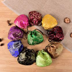 10 шт. китайский шелк вышивка упаковочные мешки Jewelry Дисплей Для женщин сумка для хранения ювелирных изделий Мини кошельки для монет