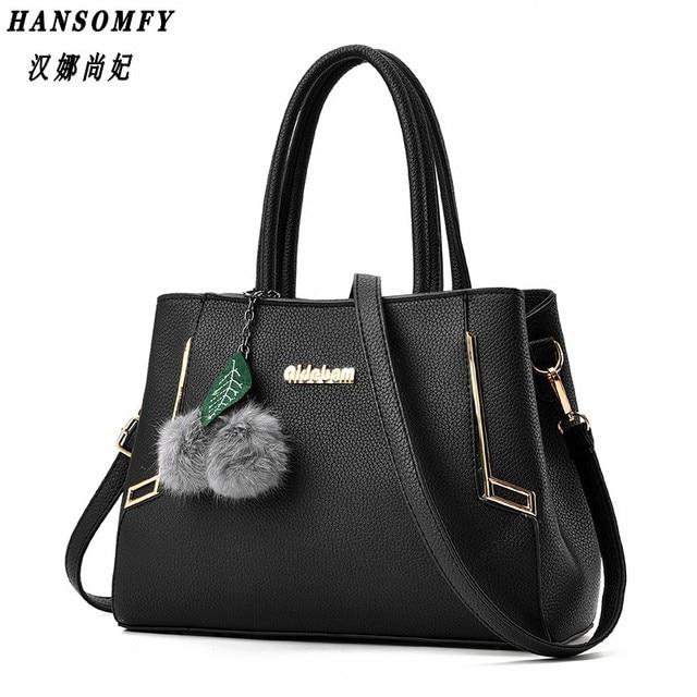 c9d1c704bd HNSF 100% Genuine leather Women handbag 2017 New Fashion bag Crossbody  Handbag Shoulder Bag Women s messenger bags tote handbags
