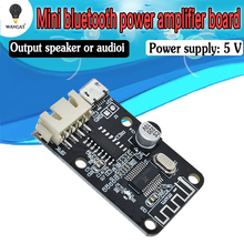 PAM8403 Wireless Bluetooth 4.0 Stereo Audio Receiver Module Digital Amplifier Sound Loud Board Micro USB 3W+3W 5V DC For Arduino
