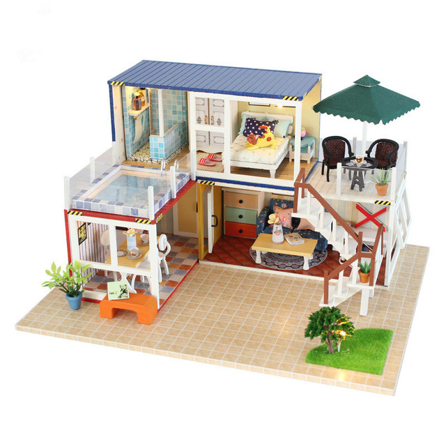 Aliexpress com : Buy DIY Anime your Name House Doll House Furniture Kits  Wooden Miniaturas Dollhouse 3D Puzzles Toys Gift for Children Lovers from