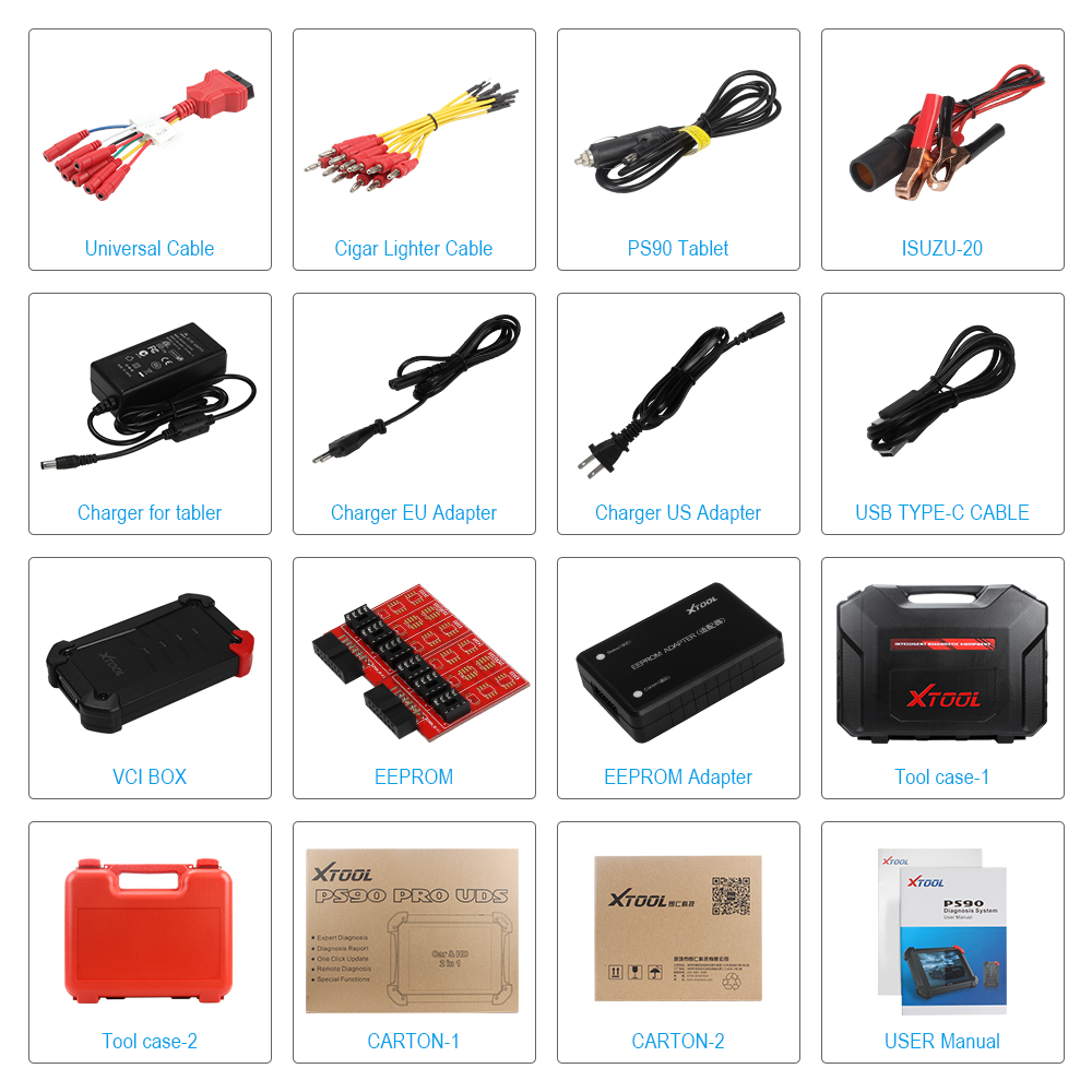 xtool-PS90-PRO-Heavy-Duty-Diagnostic-Tool-For-Car-and-Truck-OBD2-Key-programmer-and-Odometer-ADJUSTMENT (7)