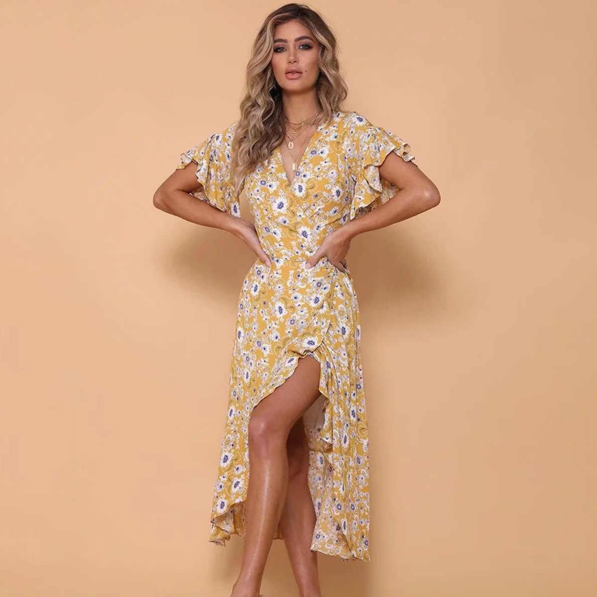 c012f6953a42d Detail Feedback Questions about Retro Locklin Midi Dress Women 2019 ...