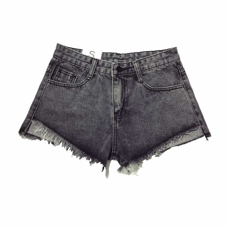 Women's Clothing B2458 New Style Spring And Summer 2019 Students Lace Embroidered Women Loose Wide Leg Hot Denim Shorts Cheap Wholesale Bottoms