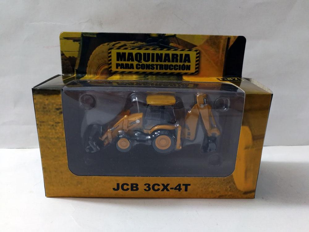 1: 87 JCB3CX-4T экскаватор игрушка погрузчик