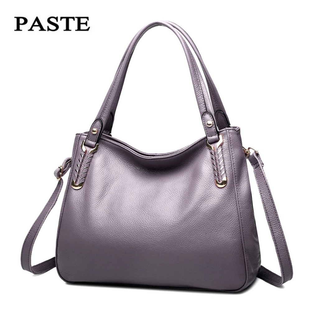 PASTE Famous Brand Women Bags 2018 Tote Bag Big Crossbody Bags for Women High Quality Women Leather Handbags Shoulder Bag Bolsas emma yao women bag leahter shoulder bags famous brand crossbody bags