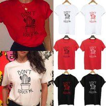 0c7bbe29fc54c S-XXL Kaktus T hemd Frauen Rot t-shirt Casual Sommer T-shirts Baumwolle  Femme tops   tees Vintage Schwarz Weiß Rot T-shirt fraue.