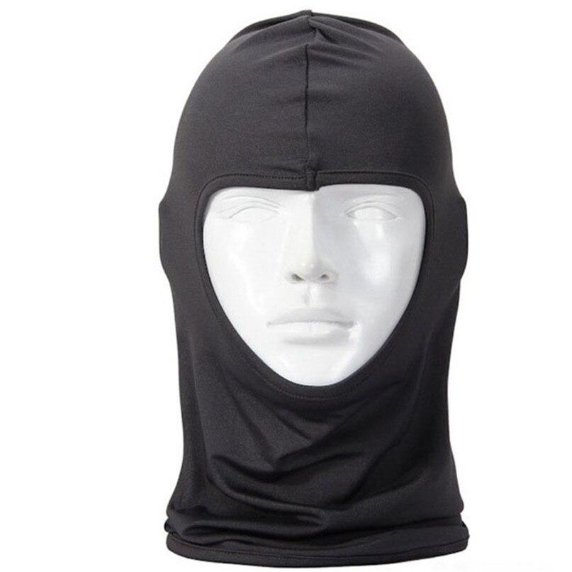New Classic Lycra Ski Face Mask Bike Bicycle CS Sports Football Mask Balaclava Headband headgear halloween face mask #2a (8)