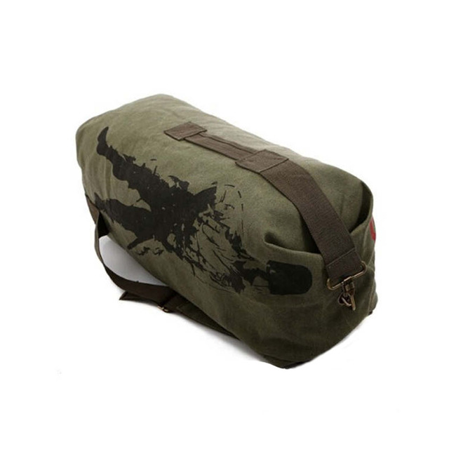 Multifunctional Canvas Military Backpack