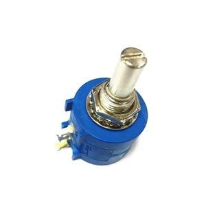 Image 2 - Frete grátis pcs 3590S 2 103L 10 10 k ohm Rotary Wirewound Precision Potentiometer Resistor Variável Potenciômetro 10 Transformar