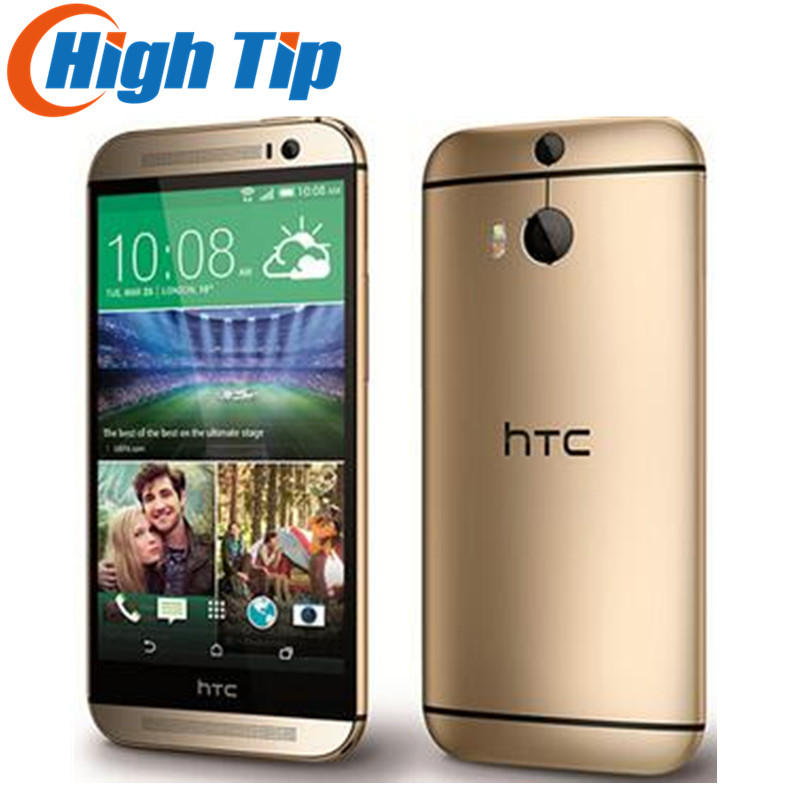 M8 Débloqué Original HTC ONE M8 Quad Core Mobile téléphone Android 4.4 2 gb RAM 16 gb/32 gb ROM 4g LTE 3 Caméra Bateau Libre Refurbisehd