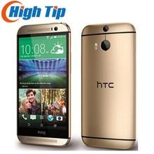 M8 оригинальный разблокирована HTC один M8 4 ядра мобильный телефон Android 4.4 2 ГБ Оперативная память 16 ГБ/32 ГБ Встроенная память 4 г LTE 3 Камера Бесплатная доставка Refurbisehd