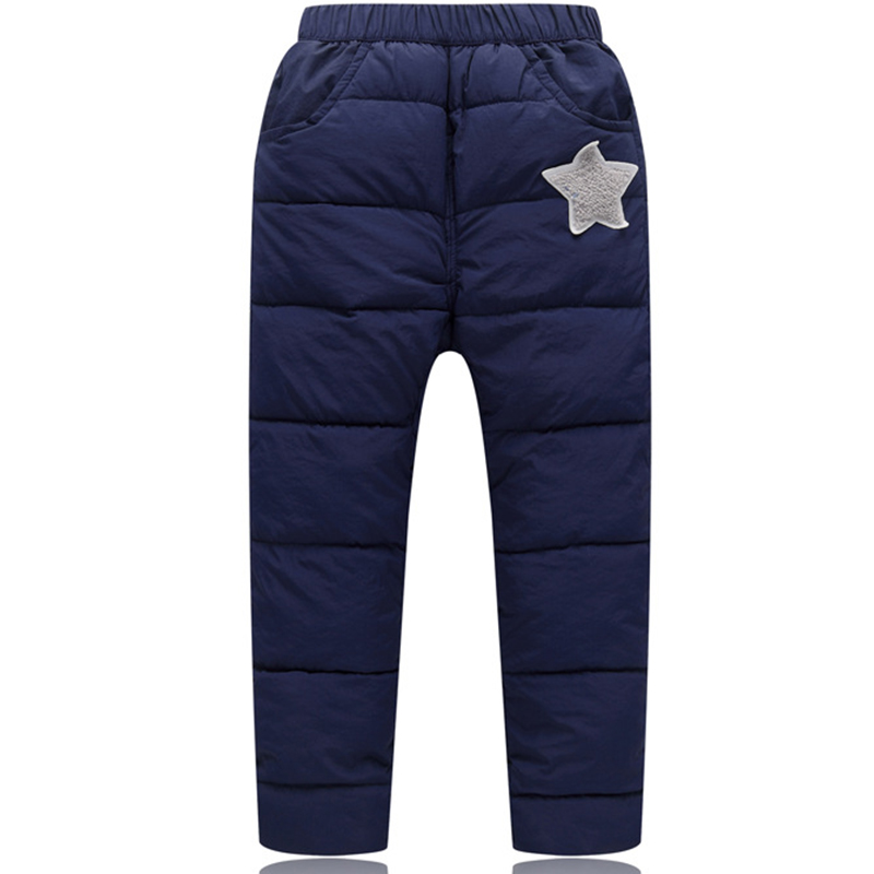 Boys Pants For Girls Down Pants Winter Warm Children Clothes Kids Leggings Girl Clothing Boys Trousers Casual School Clothing 4t 14t children s clothing pants leggings warm three layers plus plush thickening cotton baby girl clothes winter children