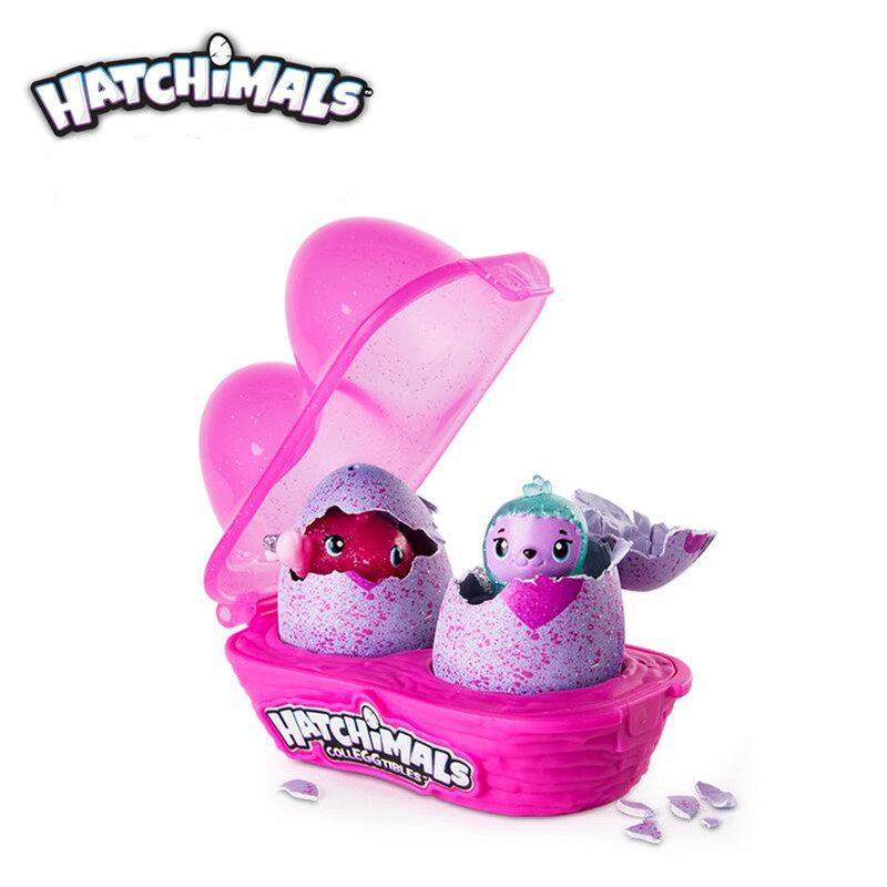 2pcs/set Hatchimals Eggs mini magical magic egg hatching creative egg child children boys and girls toys
